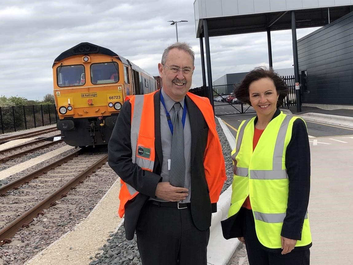 Caroline Flint iPort Rail