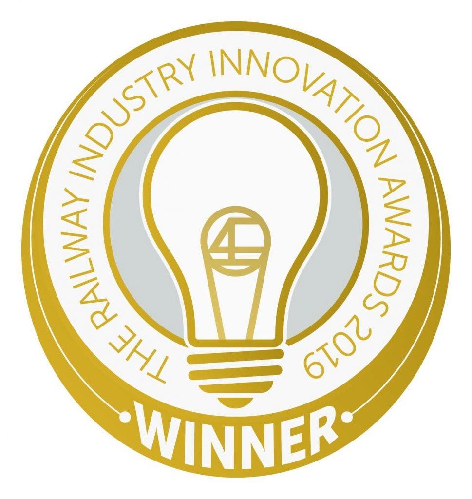 RIIA winners Logo 2019 outlines iPort Rail